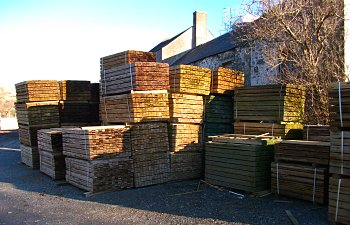 Rough Sawn Timber - Ayrshire, Wigtownshire, Lanarkshire